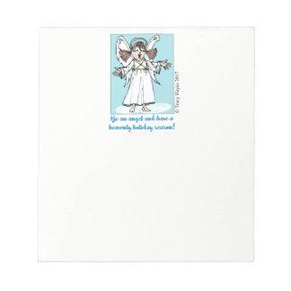 Bloc-note Bloc - notes d'ange de Noël de chant