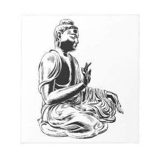 Bloc-note Bouddha