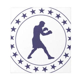 Bloc-note Boxing Boxer Boxen Boxe Fight Figher