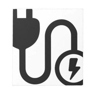 Bloc-note Cable électrique