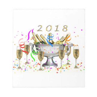 Bloc-note Cadeaux de nouvelle année