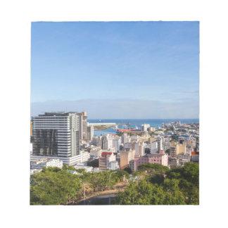 Bloc-note Capitale d'horizon de Port-Louis des Îles Maurice
