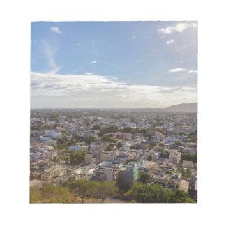 Bloc-note Capitale panoramique de Port-Louis des Îles