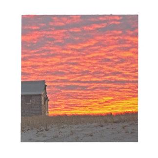 Bloc-note Chambre au coucher du soleil - 2
