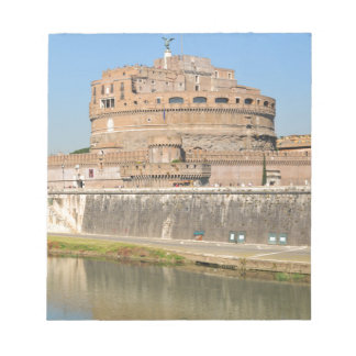 Bloc-note Château de Sant'Angelo à Rome, Italie