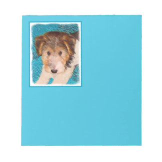 Bloc-note Chiot de Fox Terrier de fil