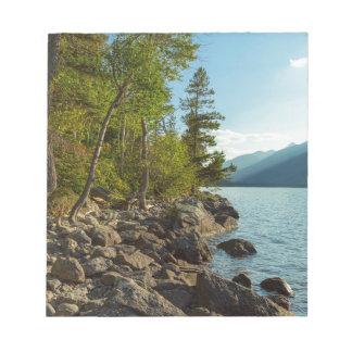 Bloc-note Côte de Teton de lac jenny
