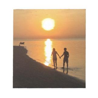 Bloc-note Coucher du soleil dans Bali