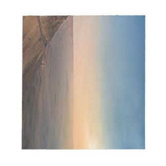 Bloc-note Cratère de Mizpe Ramon, Israël