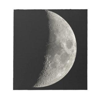 Bloc-note Demi-lune
