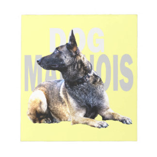 Bloc-note dog malinois china