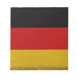 Bloc-note Drapeau Allemagne
