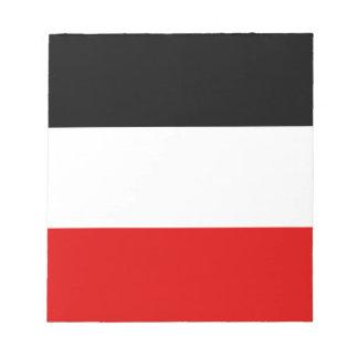 Bloc-note Drapeau allemand impérial - Deutsches Kaiserreich