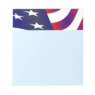 Bloc-note Drapeau américain