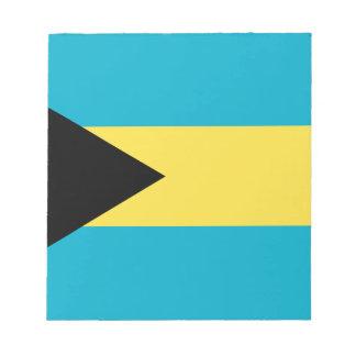 Bloc-note Drapeau bahamien patriotique