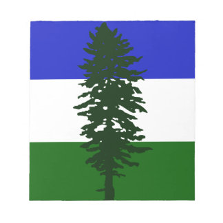 Bloc-note Drapeau de Cascadia