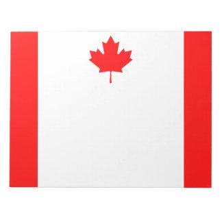 Bloc-note Drapeau national patriotique du CANADA