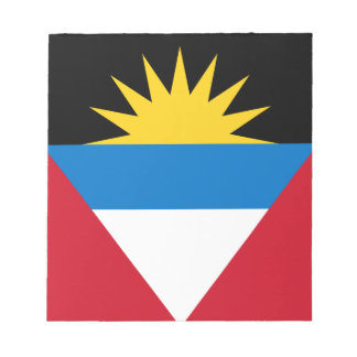 Bloc-note Drapeau patriotique d'Antigua-et-Barbuda