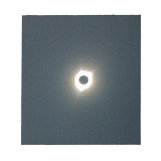 Bloc-note Éclipse 2017 - Stupéfier de totalité - image