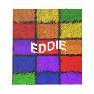 BLOC-NOTE EDDIE