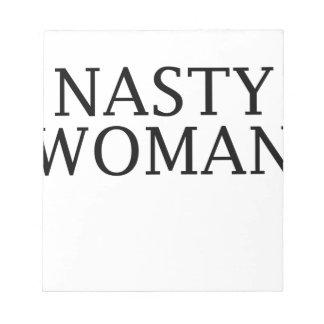 Bloc-note femme