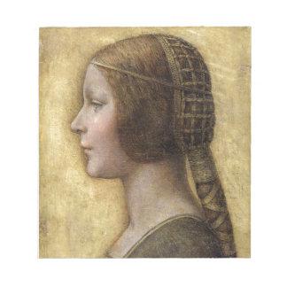 Bloc-note Femme de la Renaissance