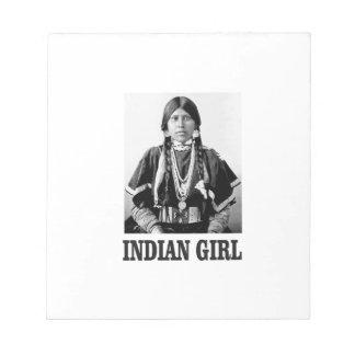 Bloc-note Femme indienne