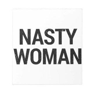 Bloc-note Femme méchante