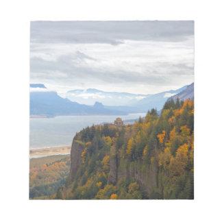 Bloc-note Feuillage d'automne à la gorge du fleuve Columbia