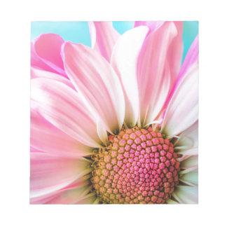 Bloc-note fleur