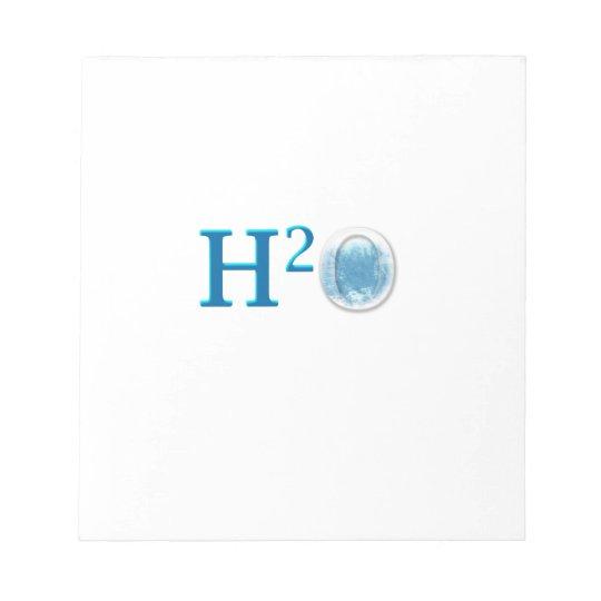 BLOC-NOTE H2O