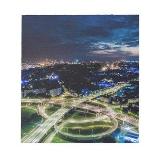 Bloc-note Horizon de nuit de Riga