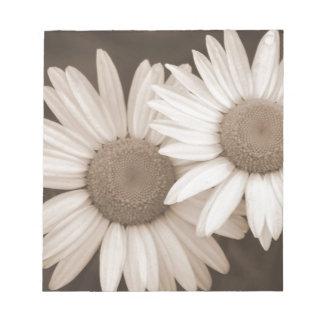 Bloc-note Idées de cadeau de flower power
