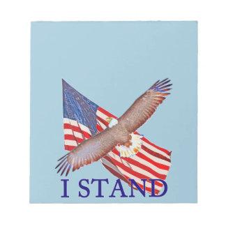 Bloc-note je représente l'Amérique