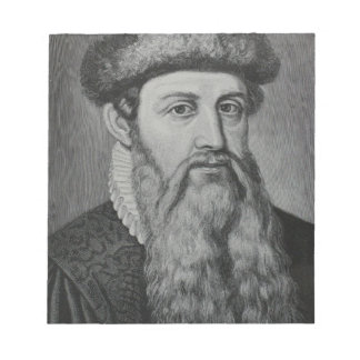 Bloc-note Johannes Gutenberg