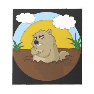 Bloc-note Jour de Groundhog