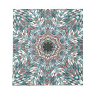 Bloc-note kaléidoscope