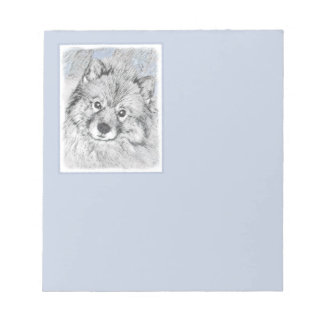 Bloc-note Keeshond (Beth)