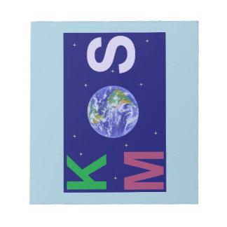 Bloc-note Kosmos étoilé
