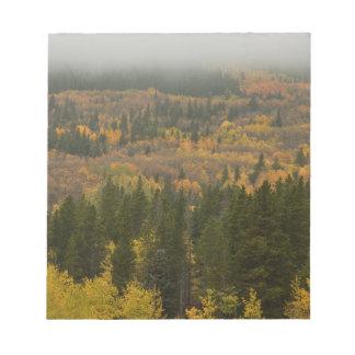 Bloc-note La couleur dans le Colorado coloré