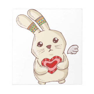 Bloc-note Lapin d'amour