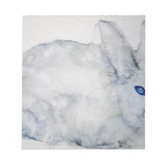 Bloc-note lapin d'yeux bleus