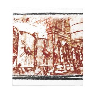 Bloc-note Légionnaire romain…
