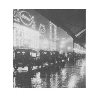 Bloc-note Los Angeles 1920