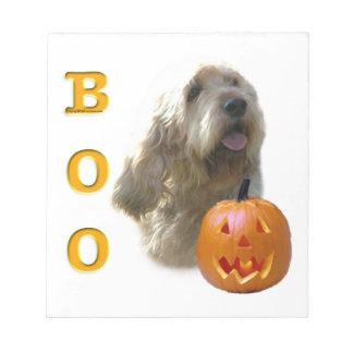 Bloc-note L'Otterhound Halloween HUENT