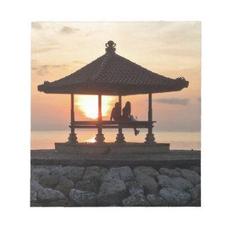Bloc-note Lune de miel dans Bali