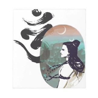 Bloc-note Lune Shiva en hausse