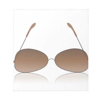 Bloc-note lunettes de soleil