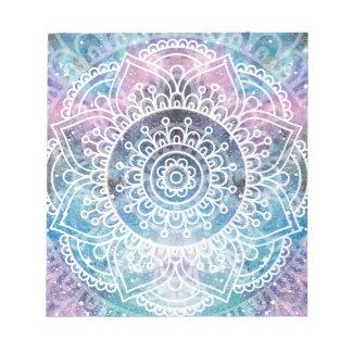 Bloc-note Mandala de galaxie