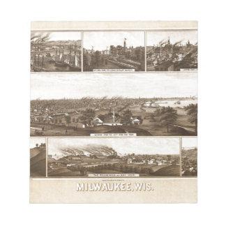 Bloc-note Milwaukee 1882